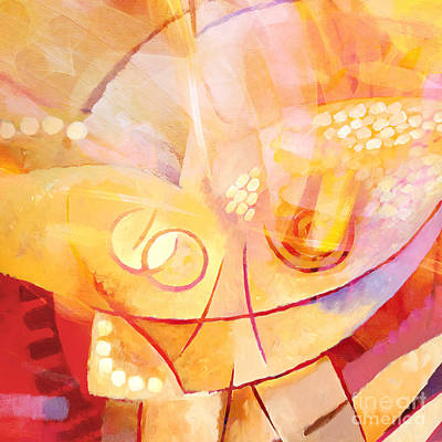 Hopeful Painting - Hopeful by Lutz Baar
