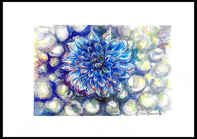 Graphics Painting - Hopes And Dreams by Lina Tumarkina