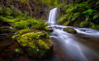 Photograph - Hopetoun Falls by Lincoln Harrison
