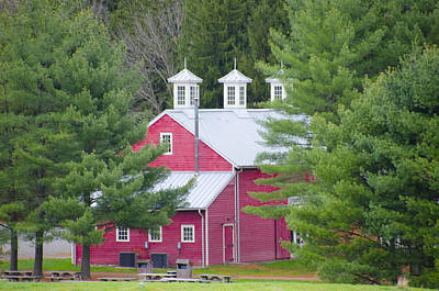 Living History Photograph - Hopewell Living History Farm by Bill Cannon