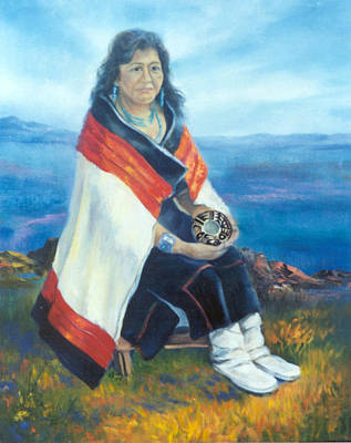Painting - Hopi Friend  by Gracia  Molloy