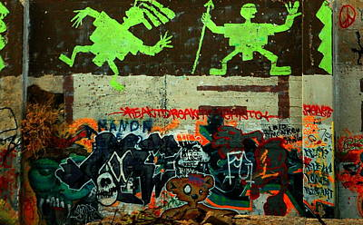 Photograph - Hopi Graffiti by Tamyra Crossley