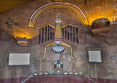 Photograph - Hopi Indian Murals by John M Bailey
