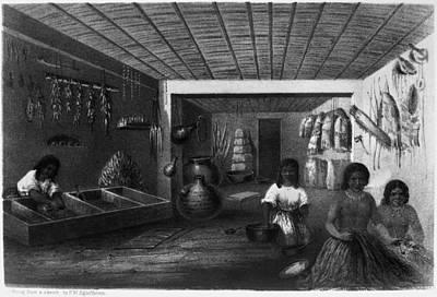 Corn Painting - Hopi Women, C1858 by Granger