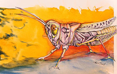 Painting - Hopper by Adria Trail