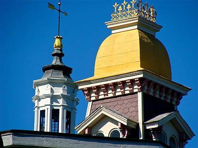 Hopper's Rooftops Original by Ira Shander