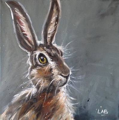 March Hare Painting - Horatio Hare by Louise  Brown