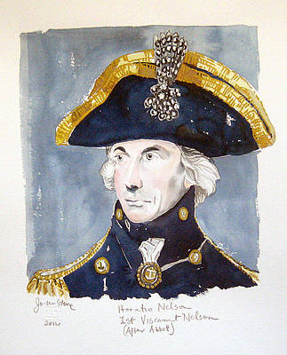 Lord Nelson Painting - Horatio Nelson by Ray Johnstone