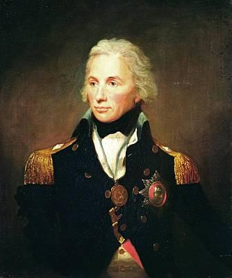 Horatio Nelson, Viscount Nelson Oil On Canvas Print by Lemuel Francis Abbott