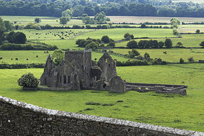 Abstract Shapes Janice Austin Royalty Free Images - Hore Abbey Near Cashel_ County Royalty-Free Image by Carl Bruemmer