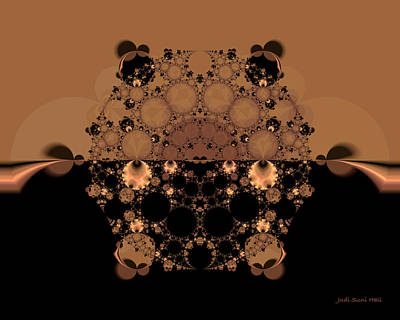 Digital Art - Horizon Fractal by Judi Suni Hall