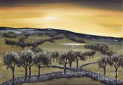 Painting - Horizon by Kenneth Clarke