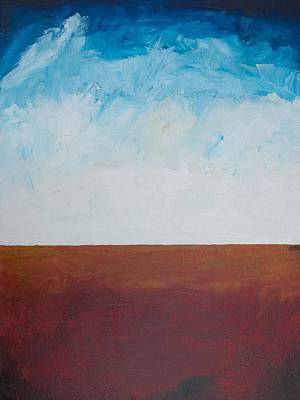 Painting - Horizon by Ron Woodbury
