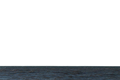 Ocean Of Emptiness Photograph - Horizon White by Jeff Kauffman