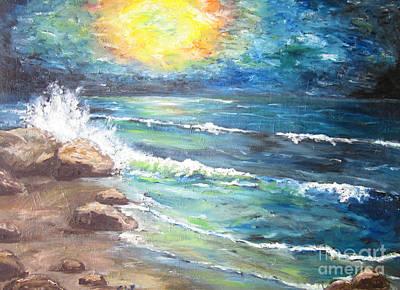 Art Print featuring the painting Horizons by Cheryl Pettigrew
