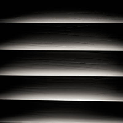 Horizontal Blinds Art Print