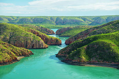 Photograph - Horizontal Falls, Kimberley, Australia by Laurenepbath