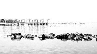 Manila Photograph - Horizontal Path by Arj Munoz