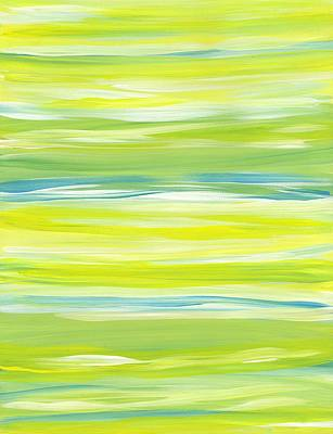 Painting - Horizontal Stripes by Barbara St Jean