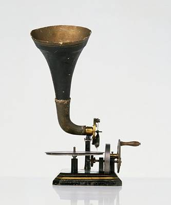 Single Object Photograph - Horn Gramophone by Dorling Kindersley/uig