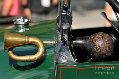 Event Photograph - Horn On 1929 Ford A by George Atsametakis
