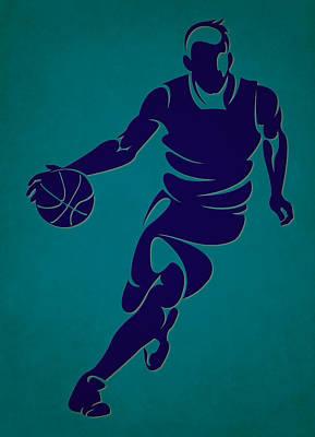 Hornets Basketball Player3 Art Print
