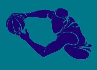 Charlotte Photograph - Hornets Shadow Player3 by Joe Hamilton
