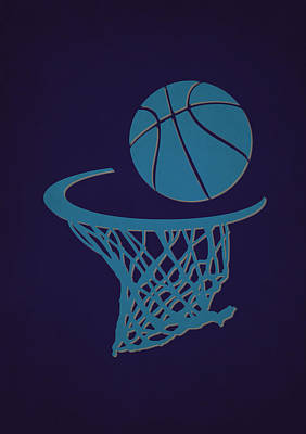 Charlotte Photograph - Hornets Team Hoop2 by Joe Hamilton