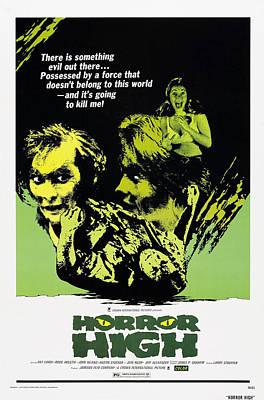 Horror Movies Photograph - Horror High, Us Poster Art, 1974 by Everett