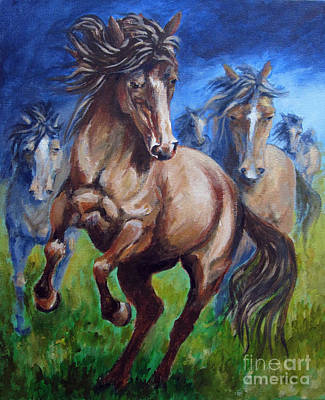 Painting - Horse 4 by Carol Hart