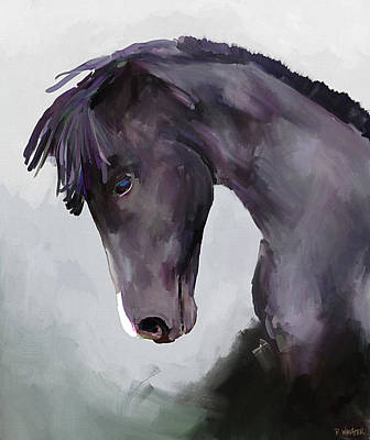 Horse Painting - Horse 5 by Robert Wheater