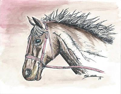 Horse Art Print by Alex Sholar