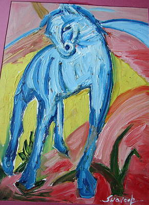 Painting - Horse by Anand Swaroop Manchiraju
