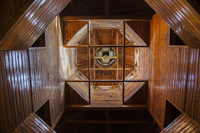 Photograph - Horse Barn Cupola And Spire by Jack R Perry