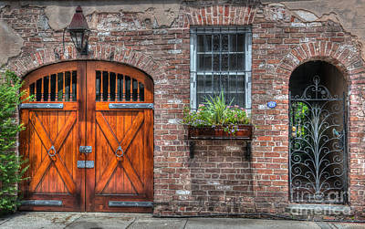 Photograph - Horse Carriage Doors by Dale Powell