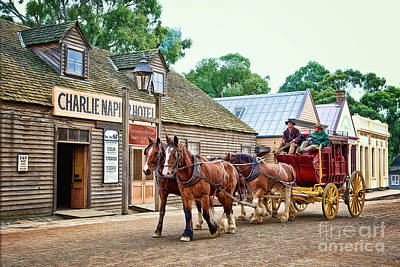 Photograph - Horse Carriage by Yew Kwang