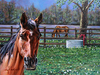Painting - Horse Commission by Craig T Burgwardt