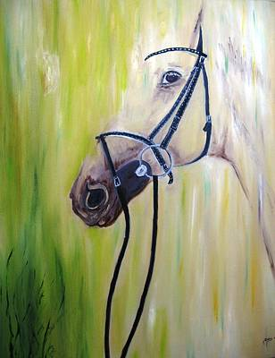 Animal Painting - Horse by Doris Cohen