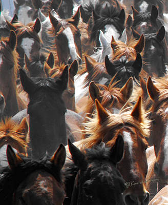 Horse Ears Art Print