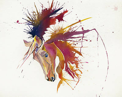 Painting - Horse by Elena Mahoney