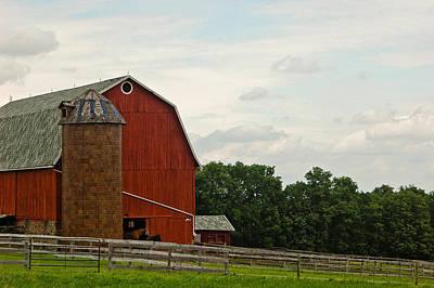 Photograph - Horse Farm by Rhonda Barrett
