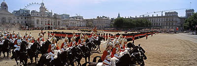 Color Guard Photograph - Horse Guards Parade, London, England by Panoramic Images