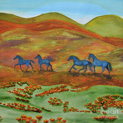 Painting - Horse Heaven by Suzette Kallen
