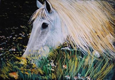 Eliso Digital Art - Horse Ign by Eliso  Silva