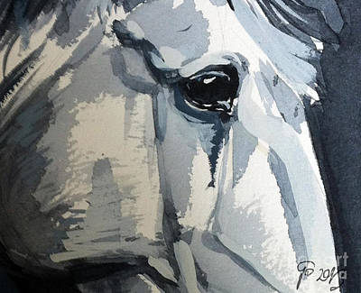 Horse Look Closer Art Print