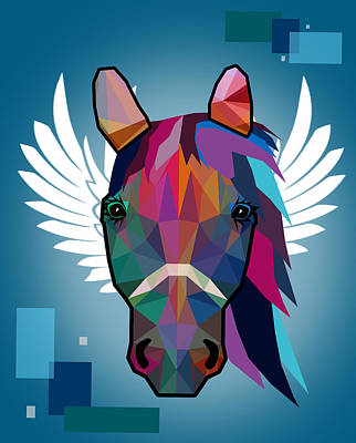 Horse  Art Print by Mark Ashkenazi