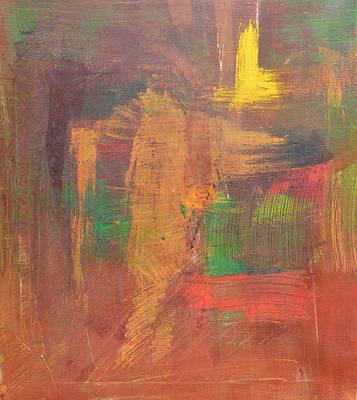 Hurricane Painting - Horse by Mirek Bialy