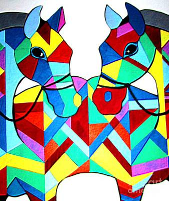 Painting - Horse Of A Different Color by Amy Sorrell