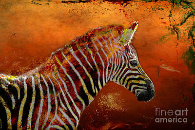 Photograph - Horse Of A Different Color by Judi Bagwell