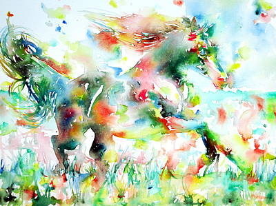 Painting - Horse Painting.36 by Fabrizio Cassetta